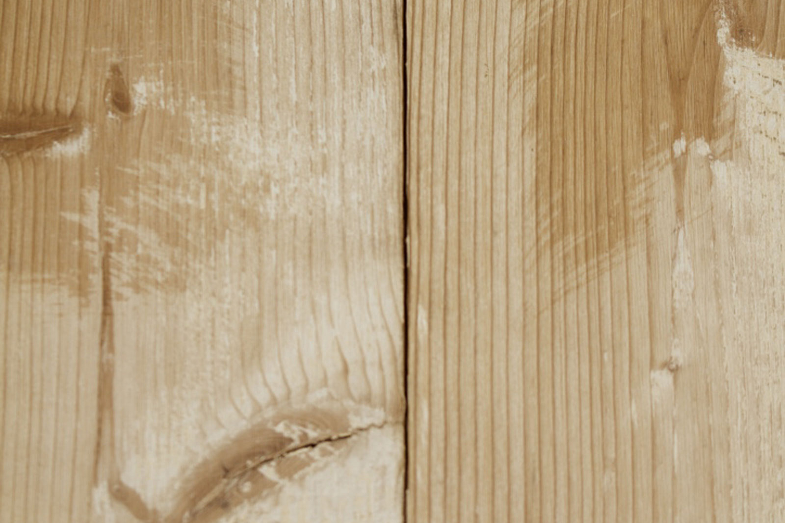 Close up of knot on cladding