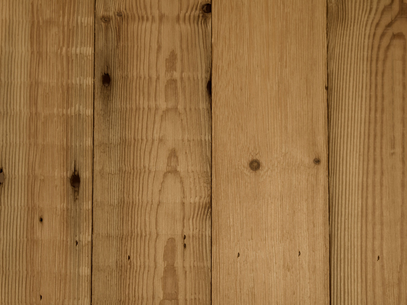 Light pine cladding