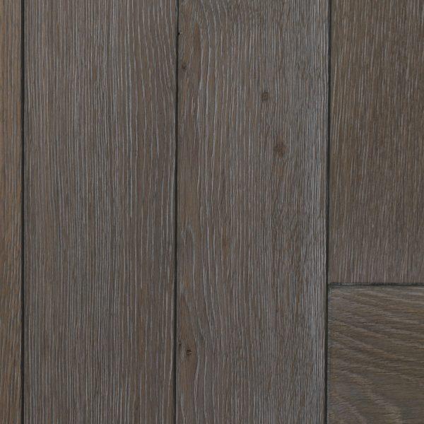Whitewash oak grain on parquet flooring