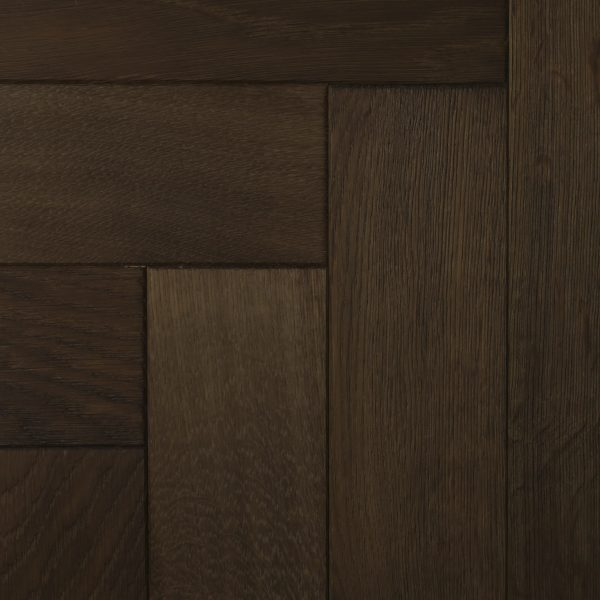 Rich brown wood parquet