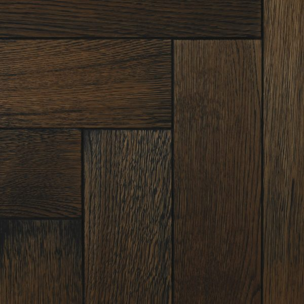 Parquet flooring blocks in brown