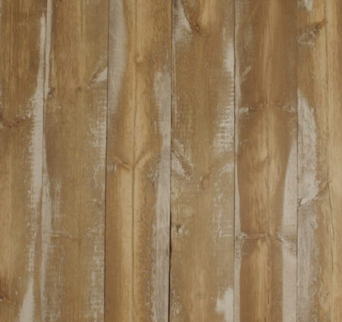 Whitewashed pine cladding