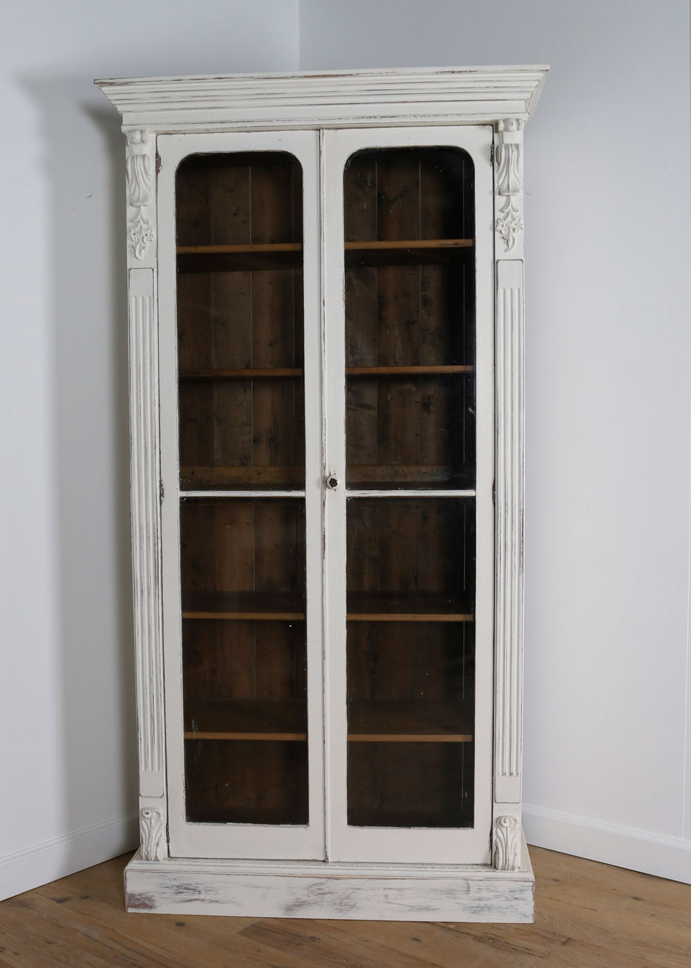 China display cabinet with glass doors