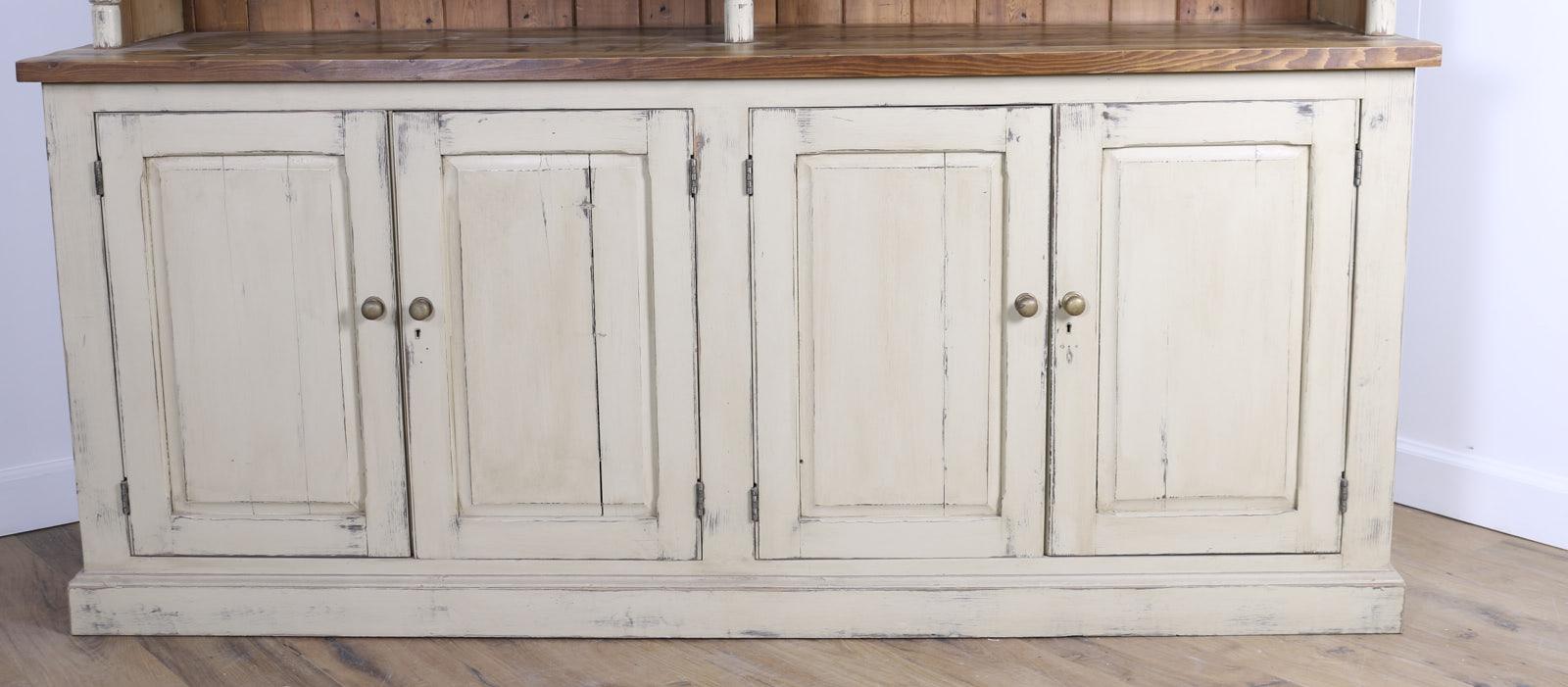 Original cream dresser with open shelves