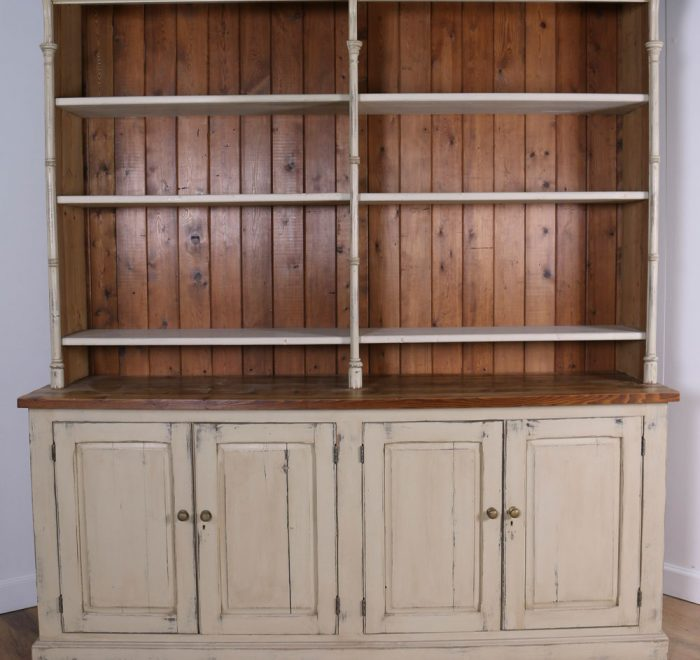 Original cream dresser with open shelves