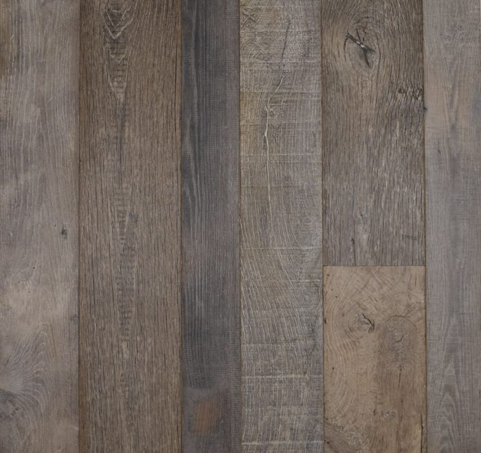 Light barn oak floor boards from reclaimed timber