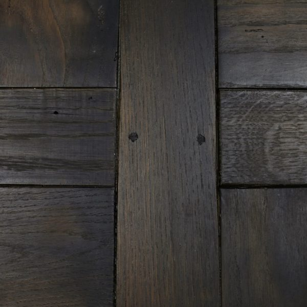 Original marks in oak flooring panel