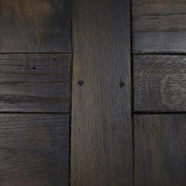 Original marks in oak flooring panel