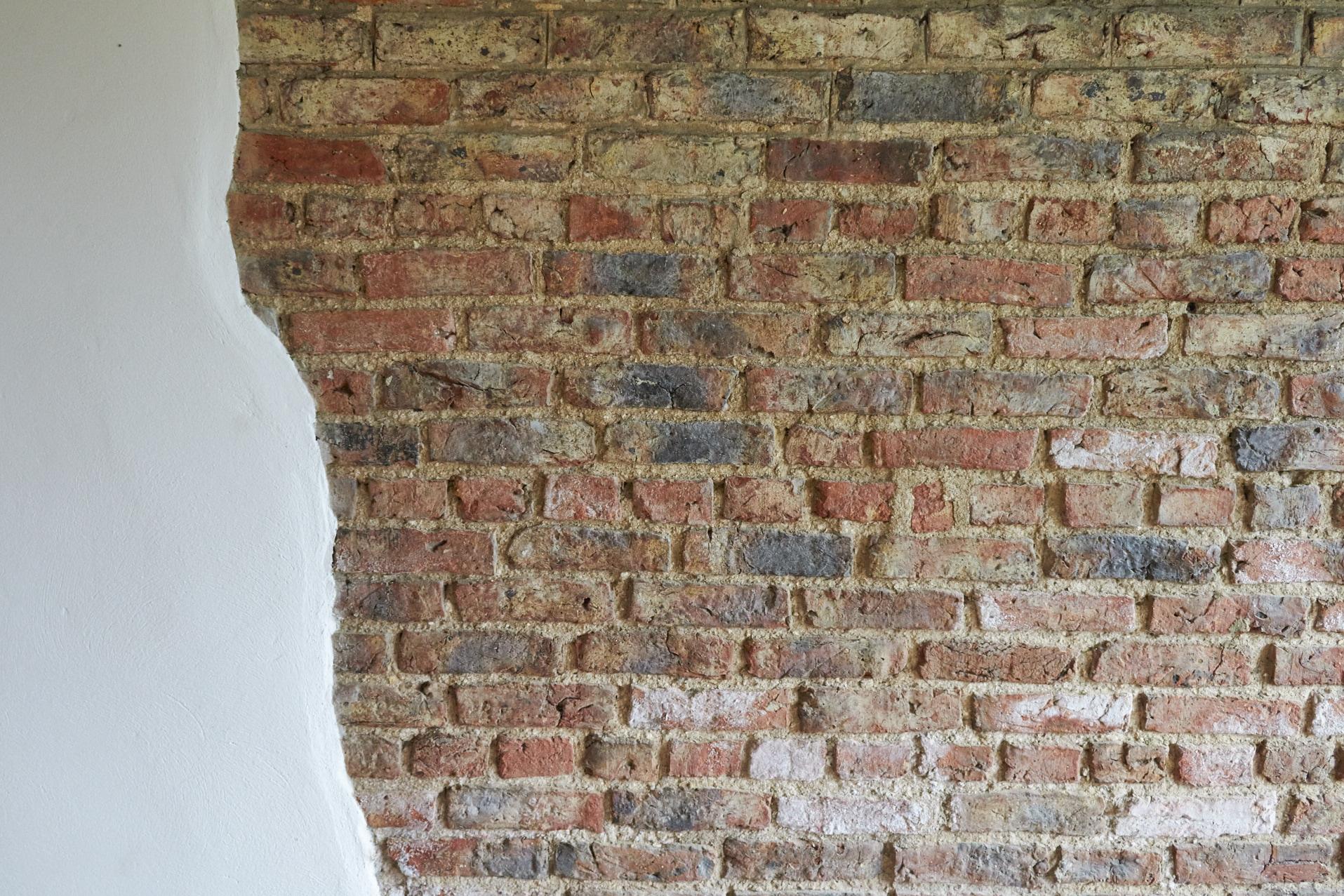 Moor Monkton Barn wall