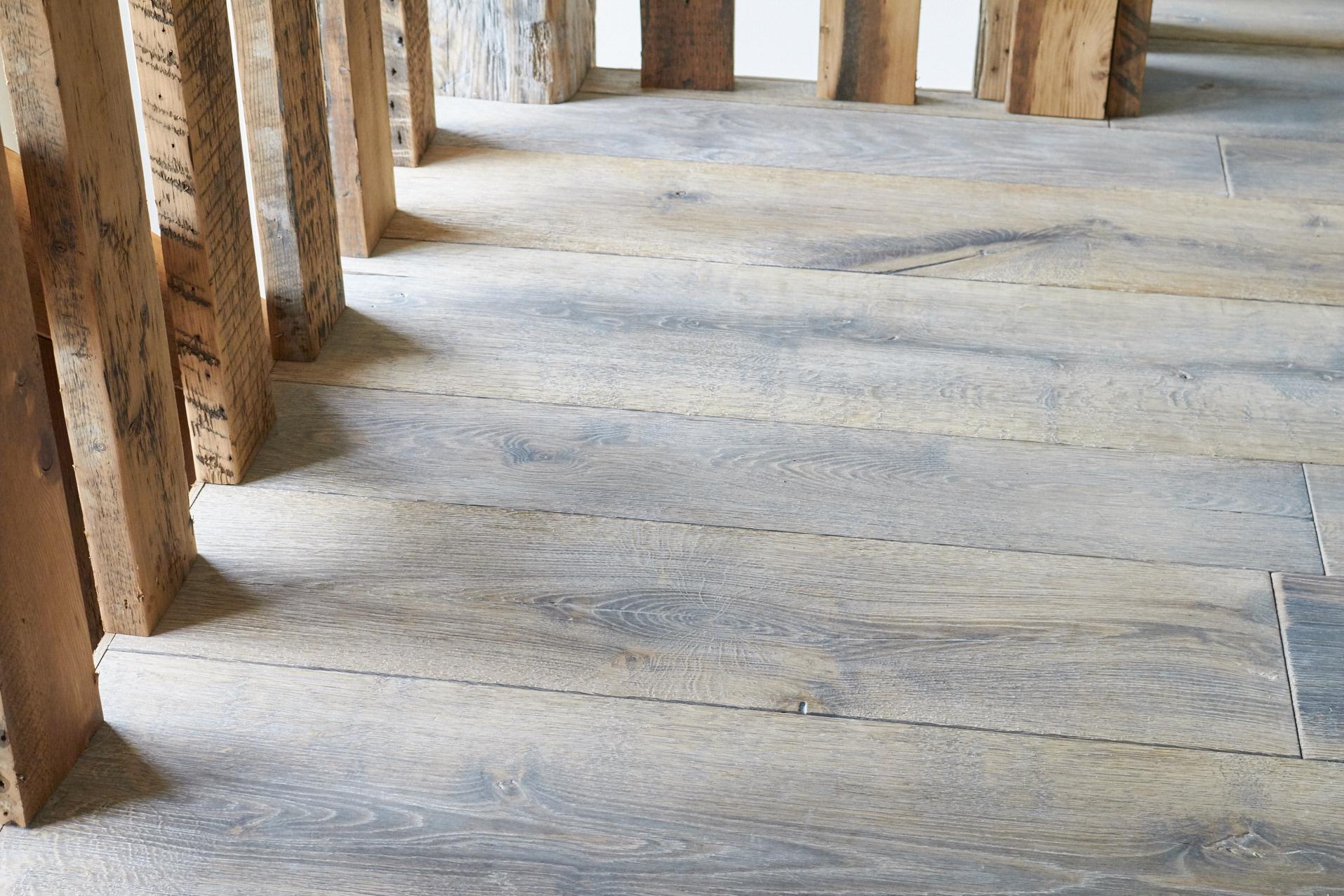 Moor Monkton Barn flooring