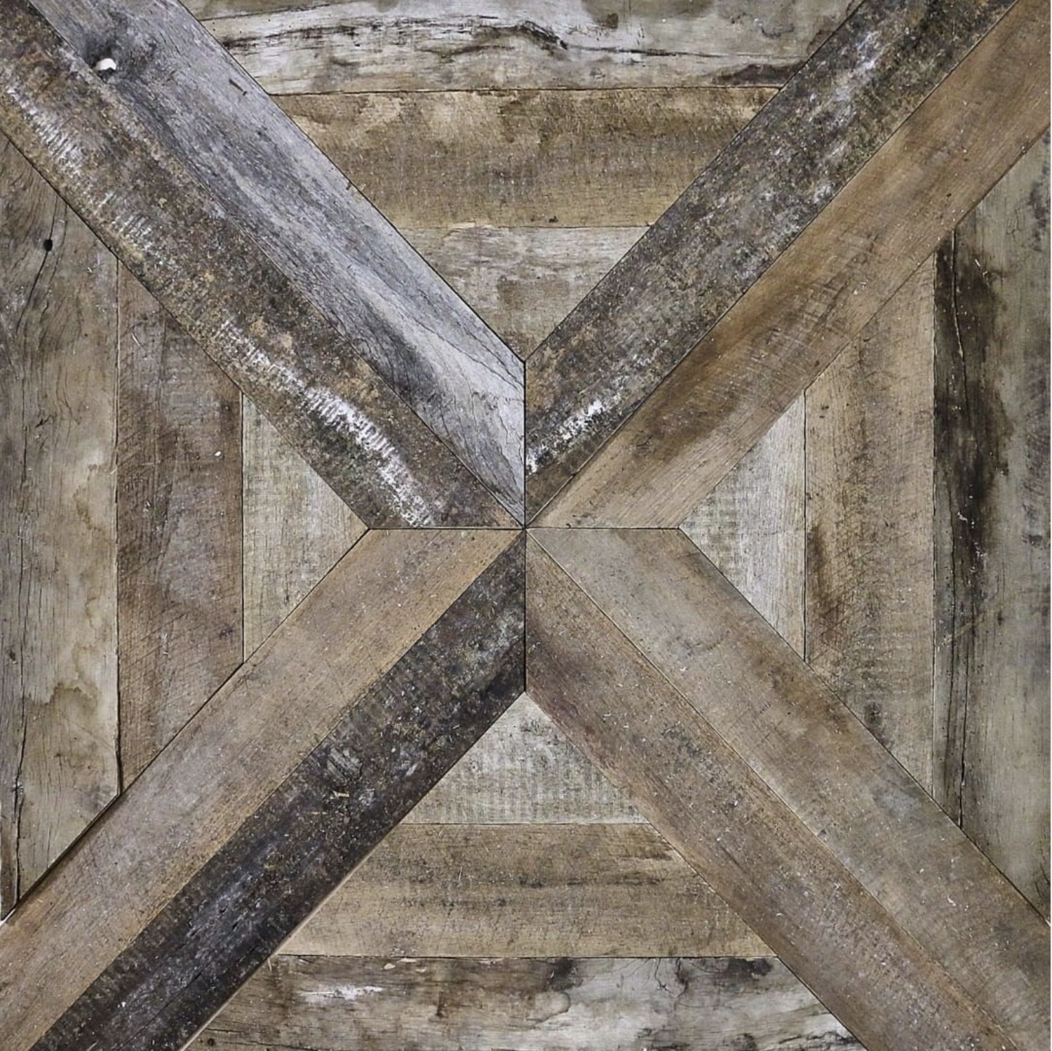 The Main Company Cross parquet pre-engineered