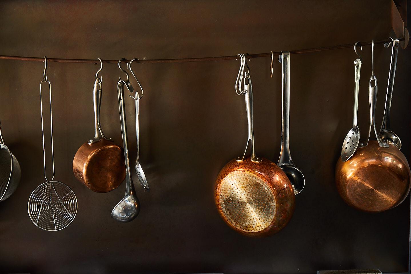 Cornwall kitchen pans