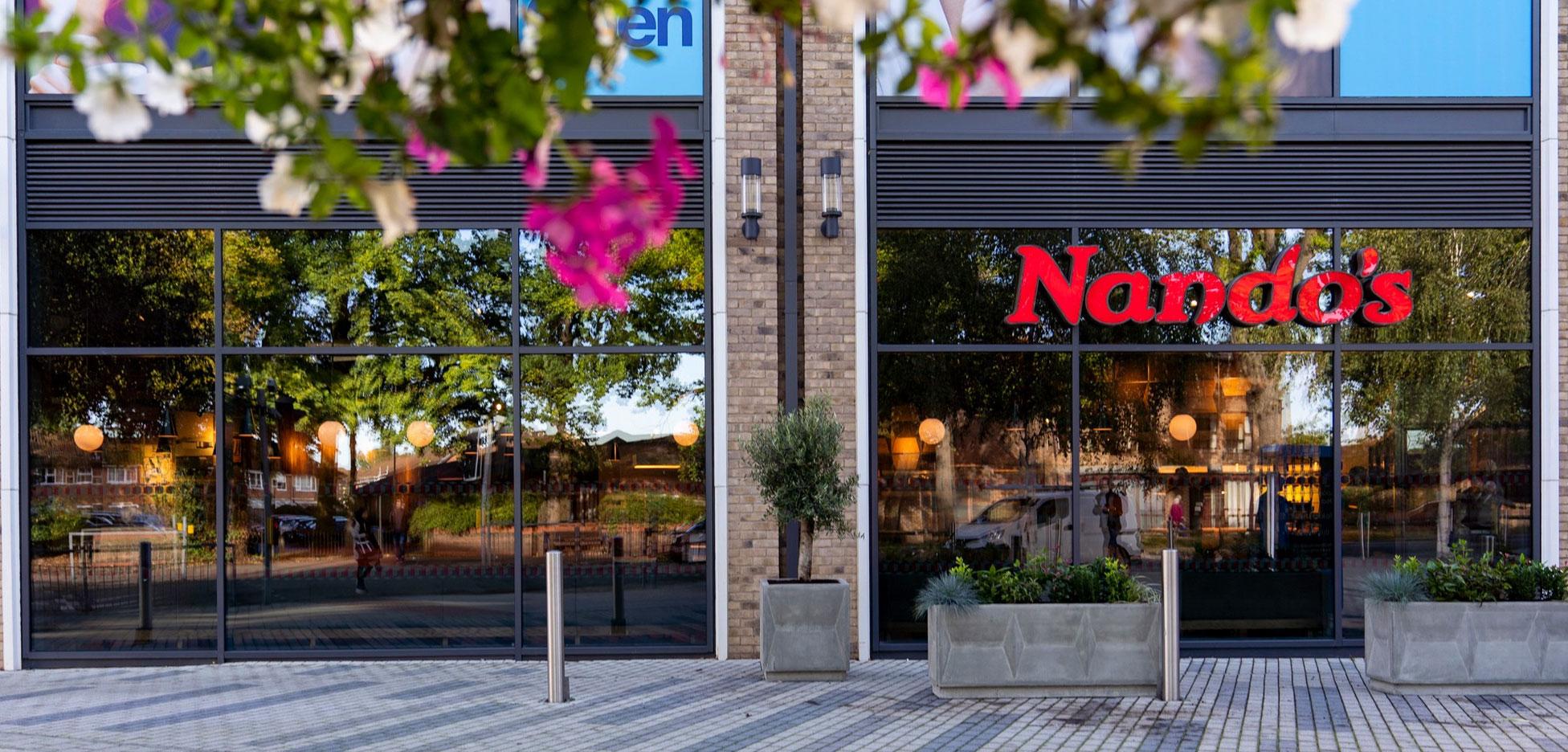 Nando's shop front