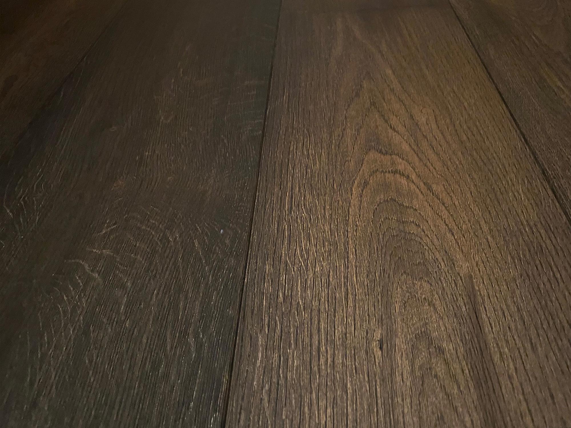 Dark brown floor board