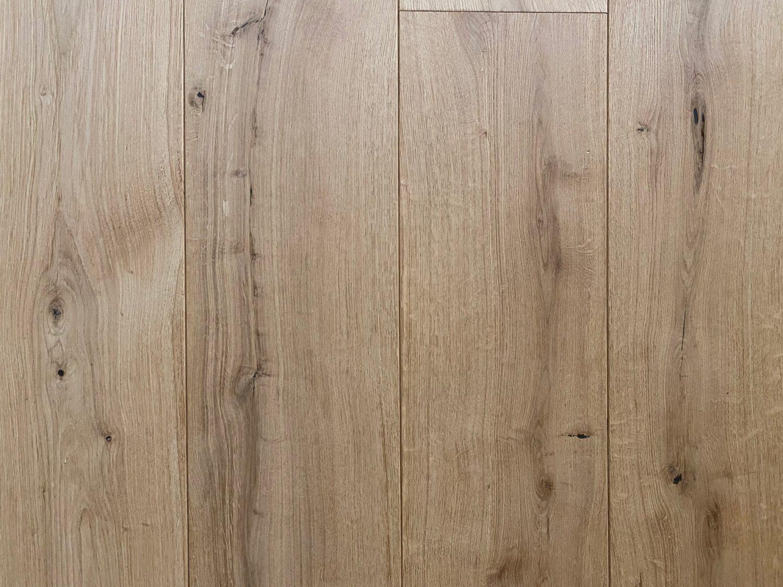 Engineered oak flooring sample board