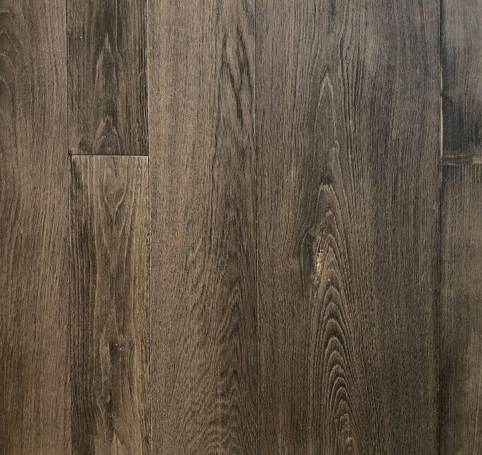 Dark rustic oak flooring