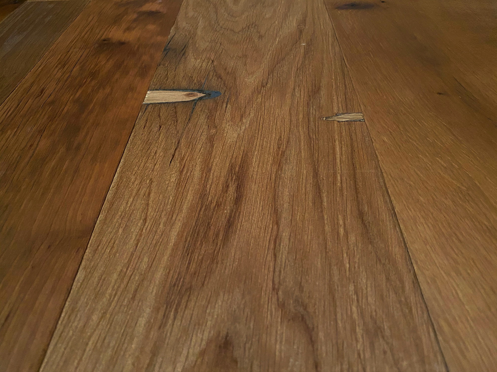 Light oak oiled flooring