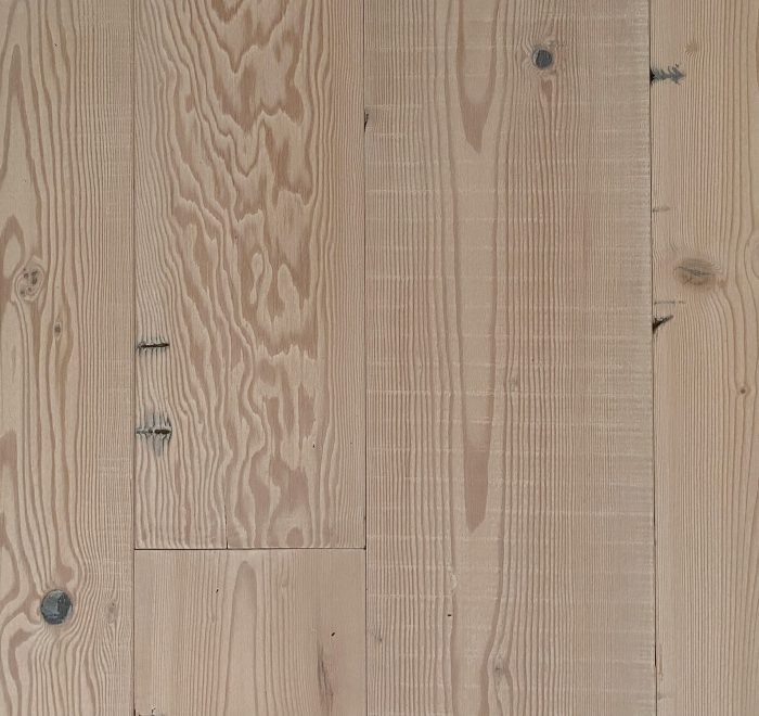 Whitewash reclaimed pine flooring