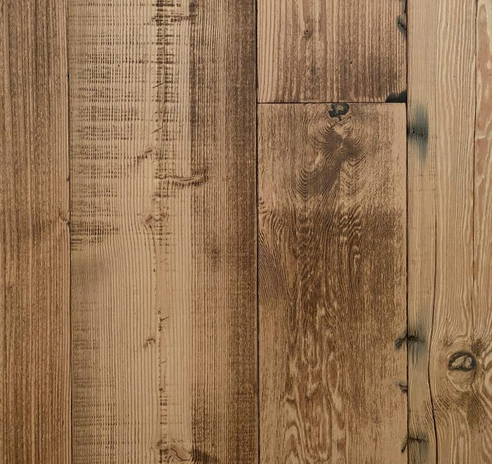 Reclaimed flooring from Douglas fir