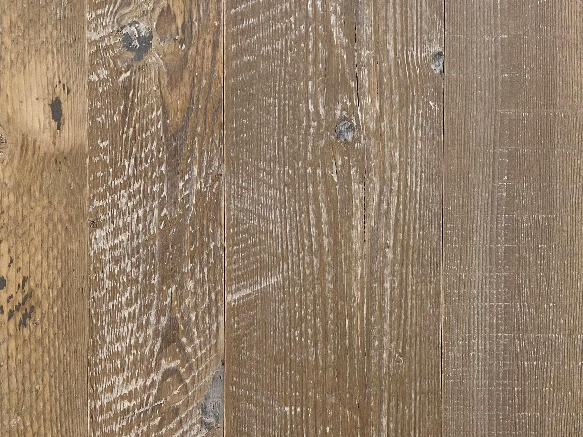 Rustic reclaimed pine spruce flooring