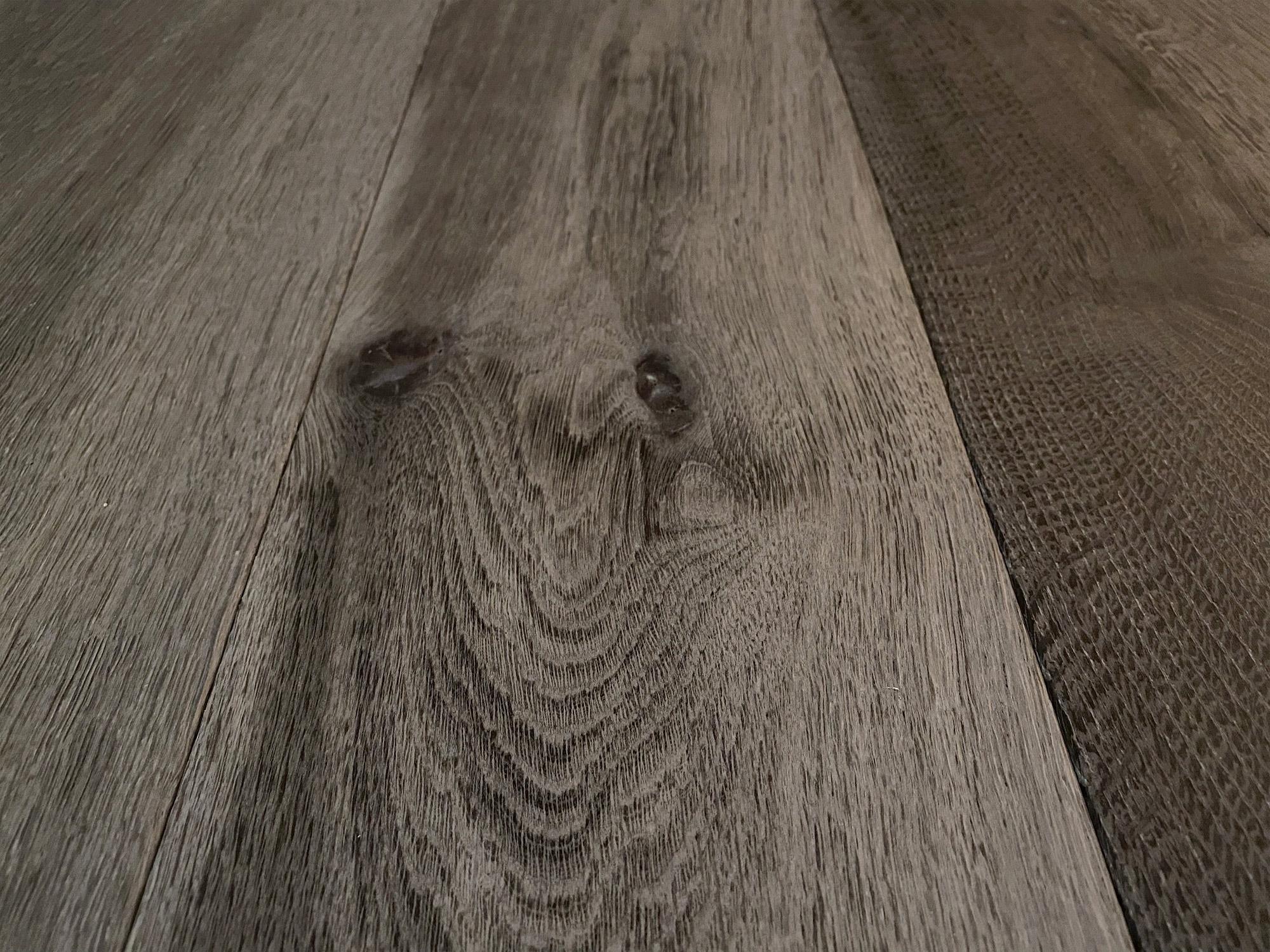 Single oak floor plank
