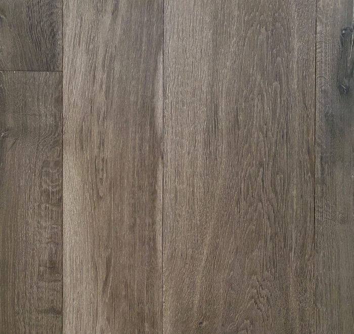 Dark grey engineered flooring sample board
