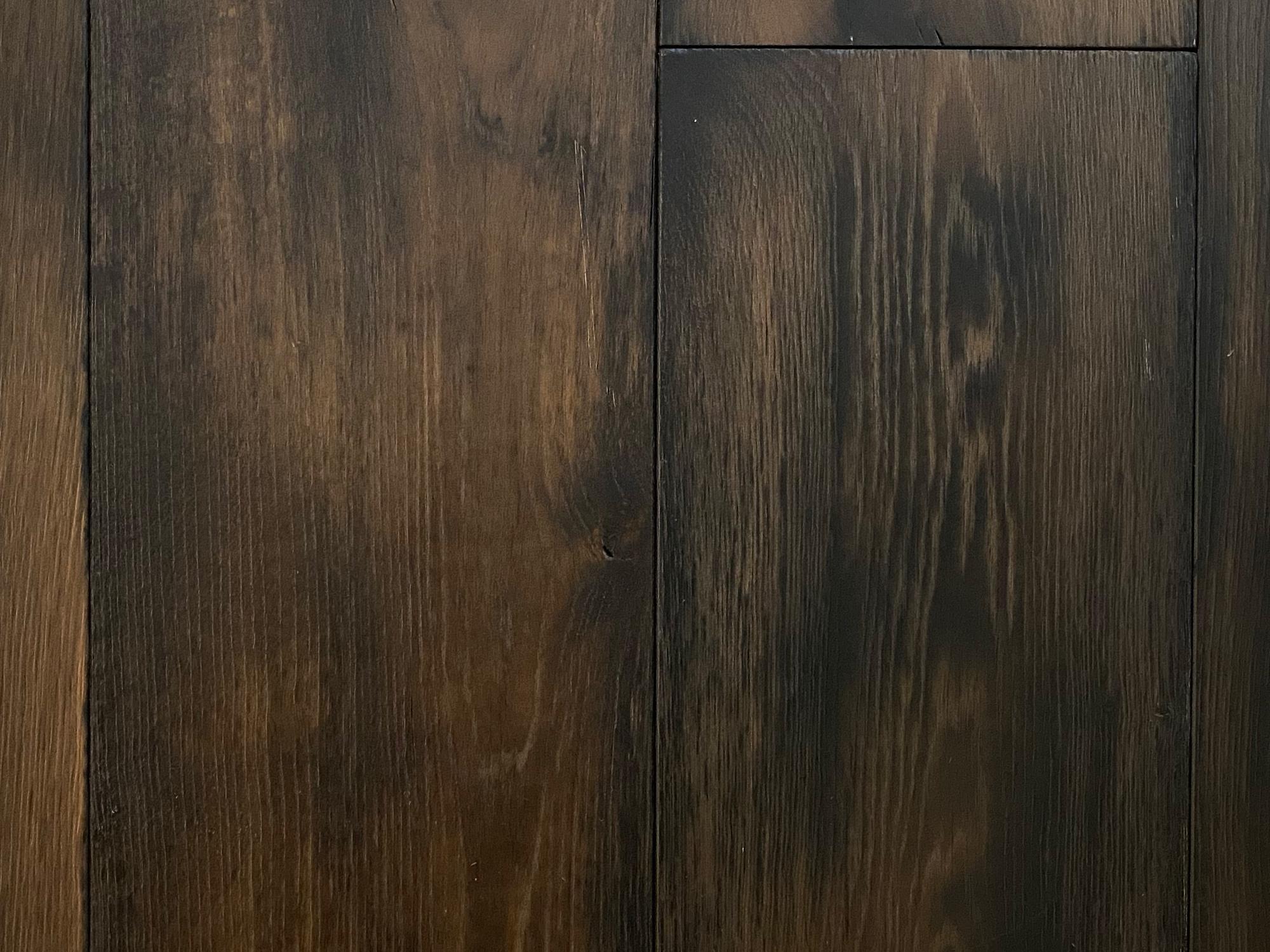 ENG21 dark engineered oak flooring