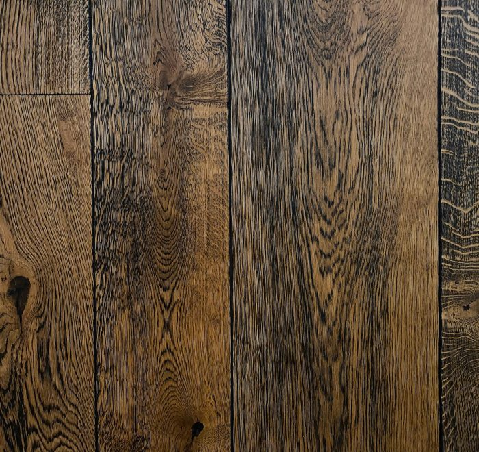 Antique oak flooring panks