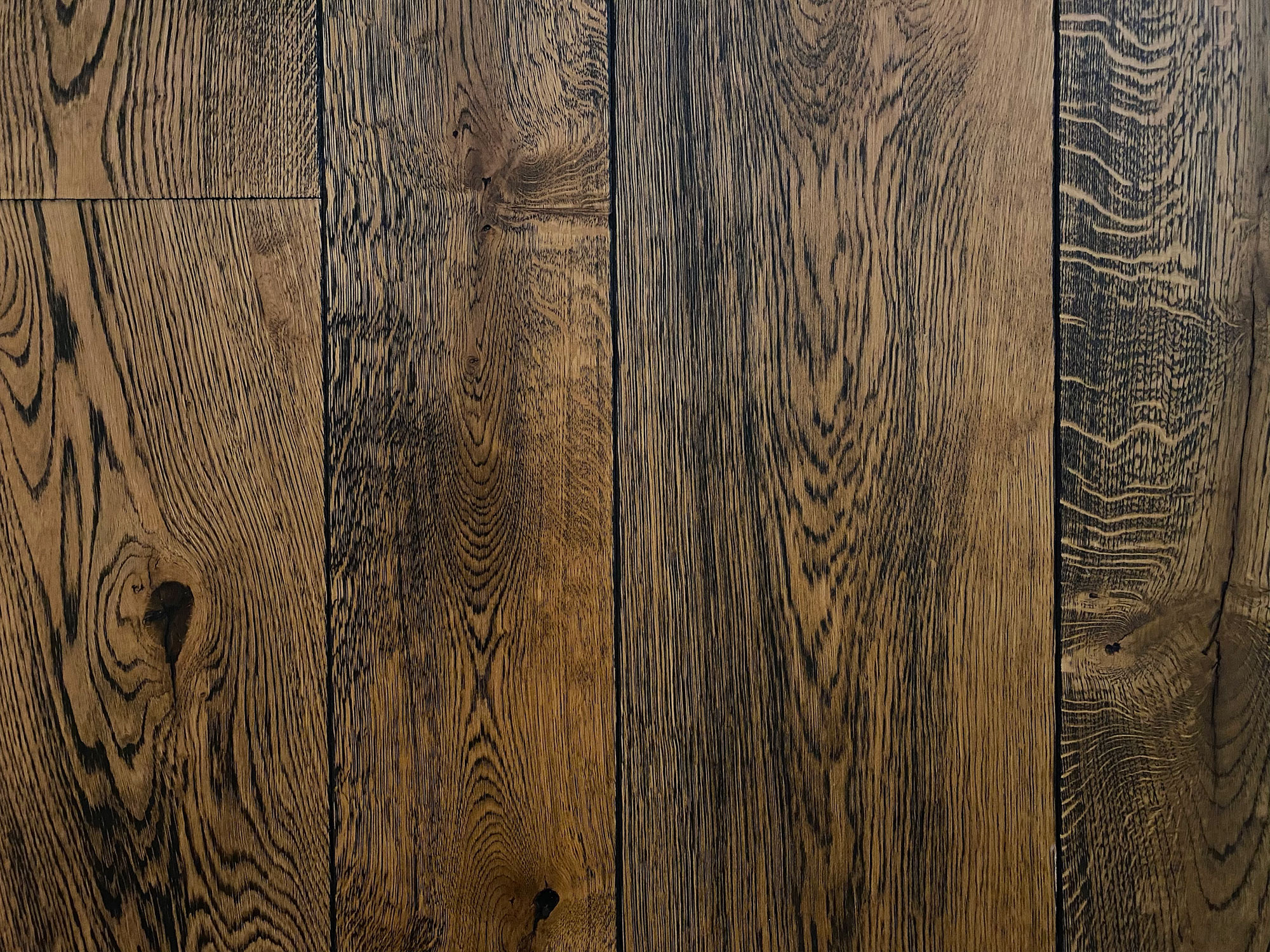 Antique oak flooring panks