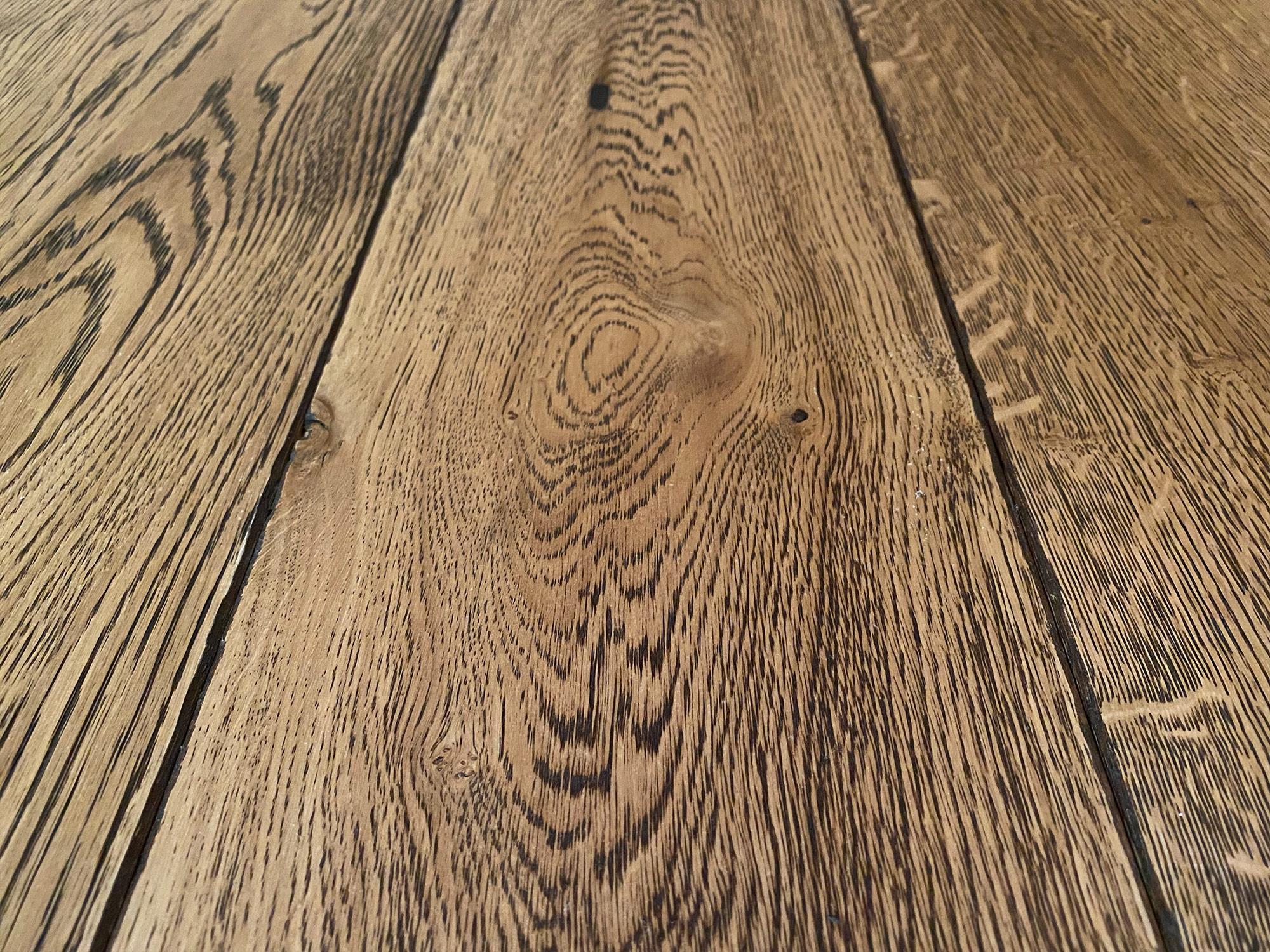 Distillery oak flooring