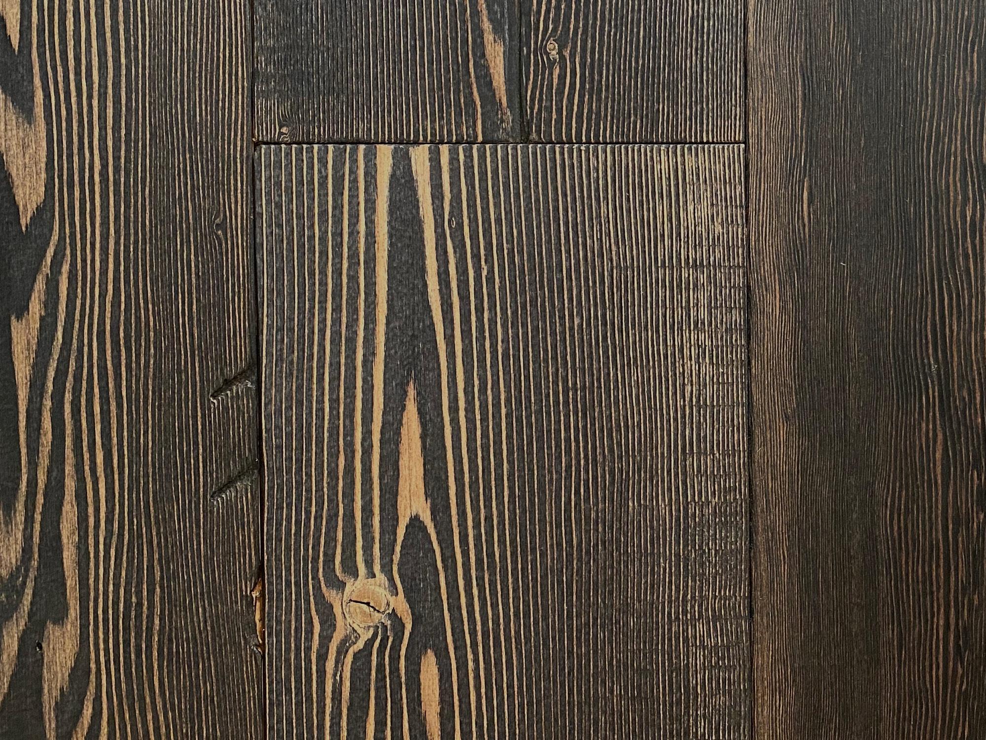 Douglas fir floor planks
