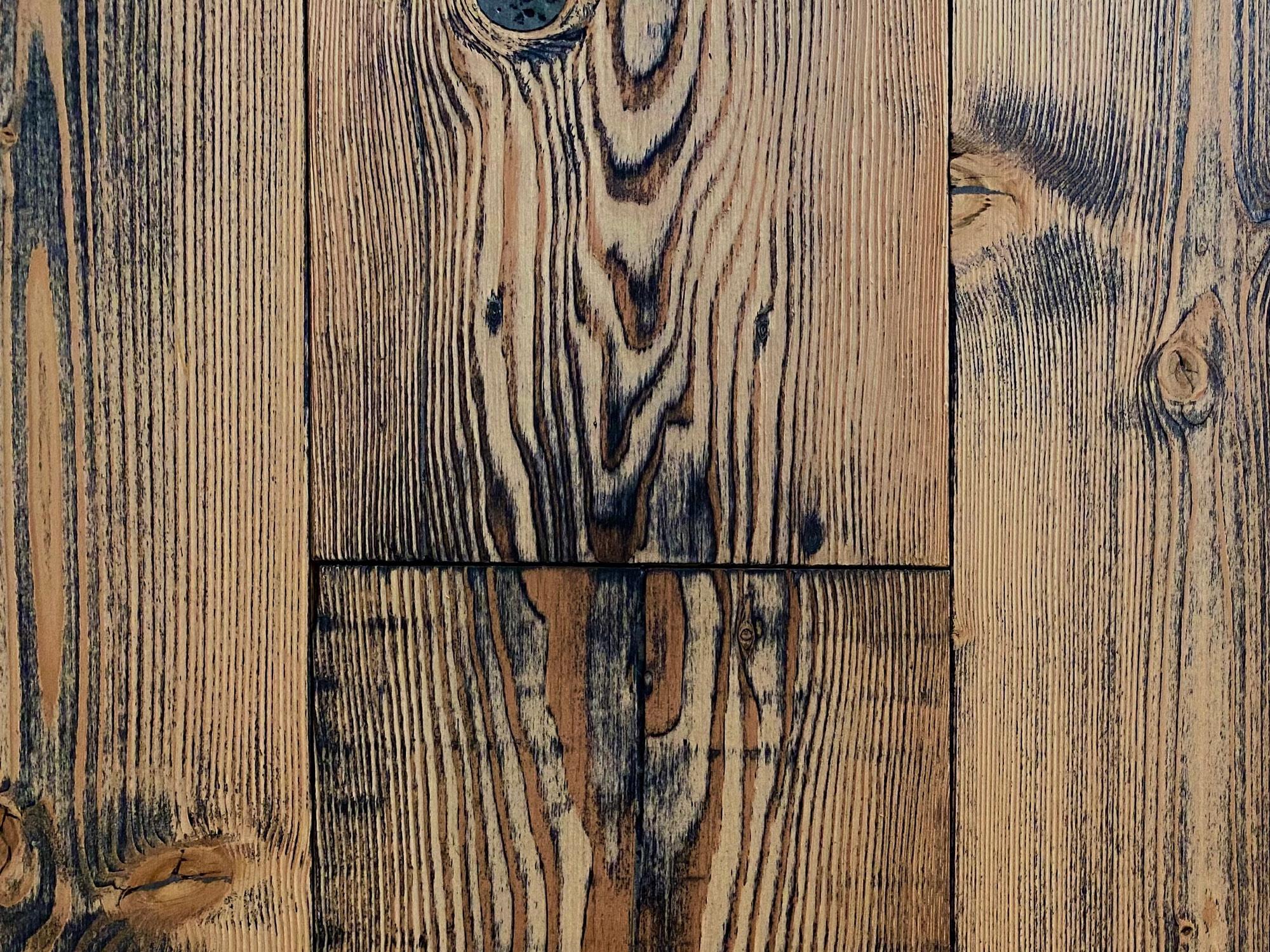 Douglas fir pine reclaimed flooring