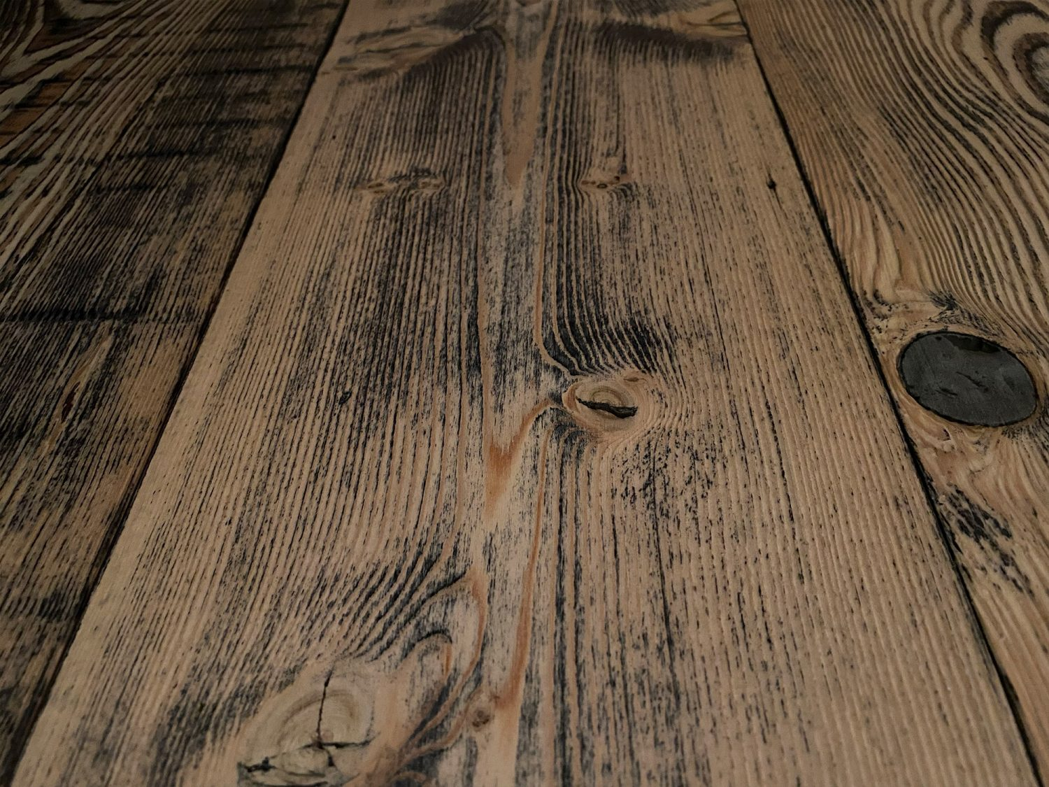 Douglas Fir reclaimed flooring