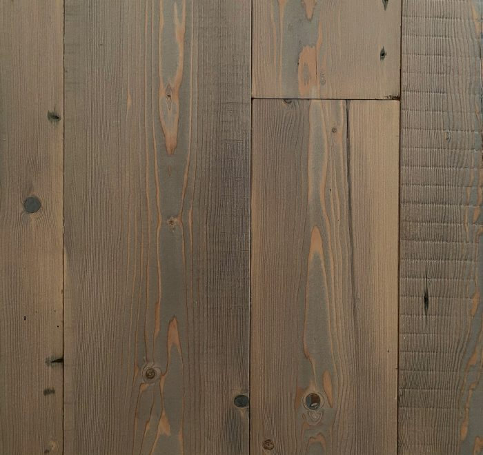 Rustic grey reclaimed floor boards