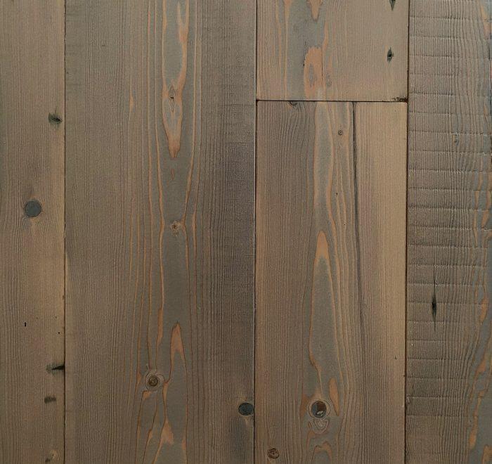 Rustic grey reclaimed floor boards