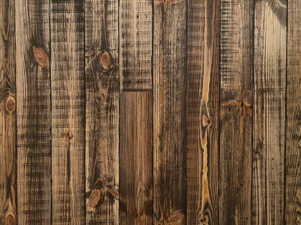 Reclaimed old brown mill sample board