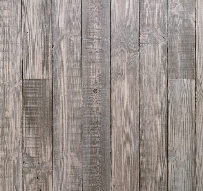 Reclaimed old white cladding sample board