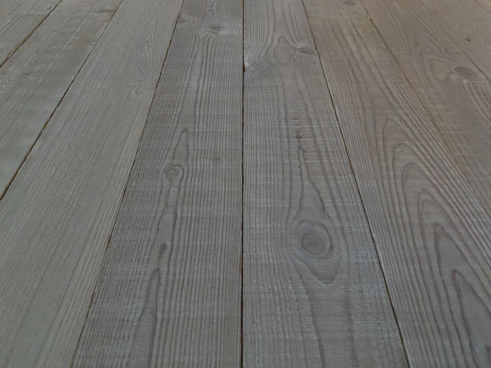 Reclaimed grey cladding