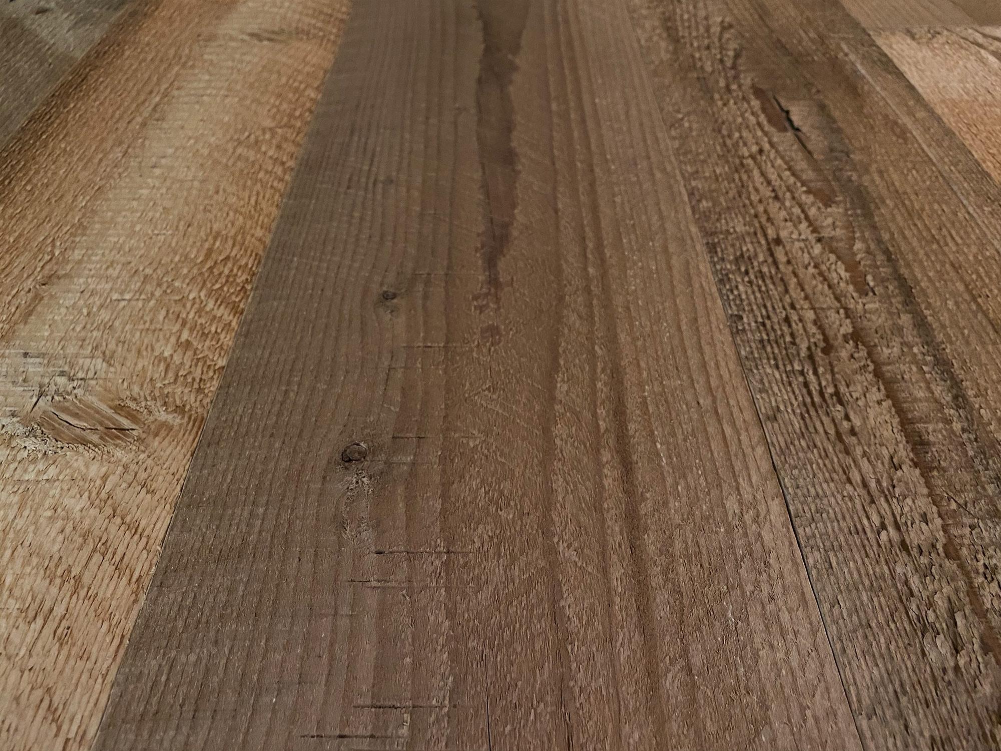 Ligh brown wood pine cladding