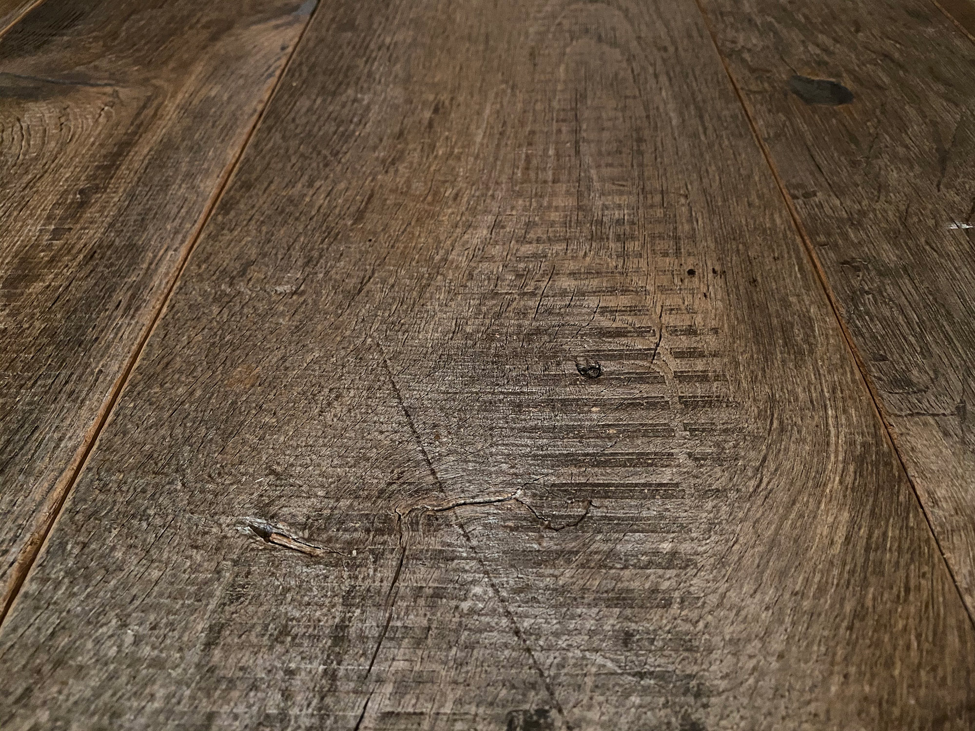 Rustic flooring sample boards