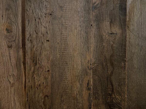 Grey reclaimed flooring