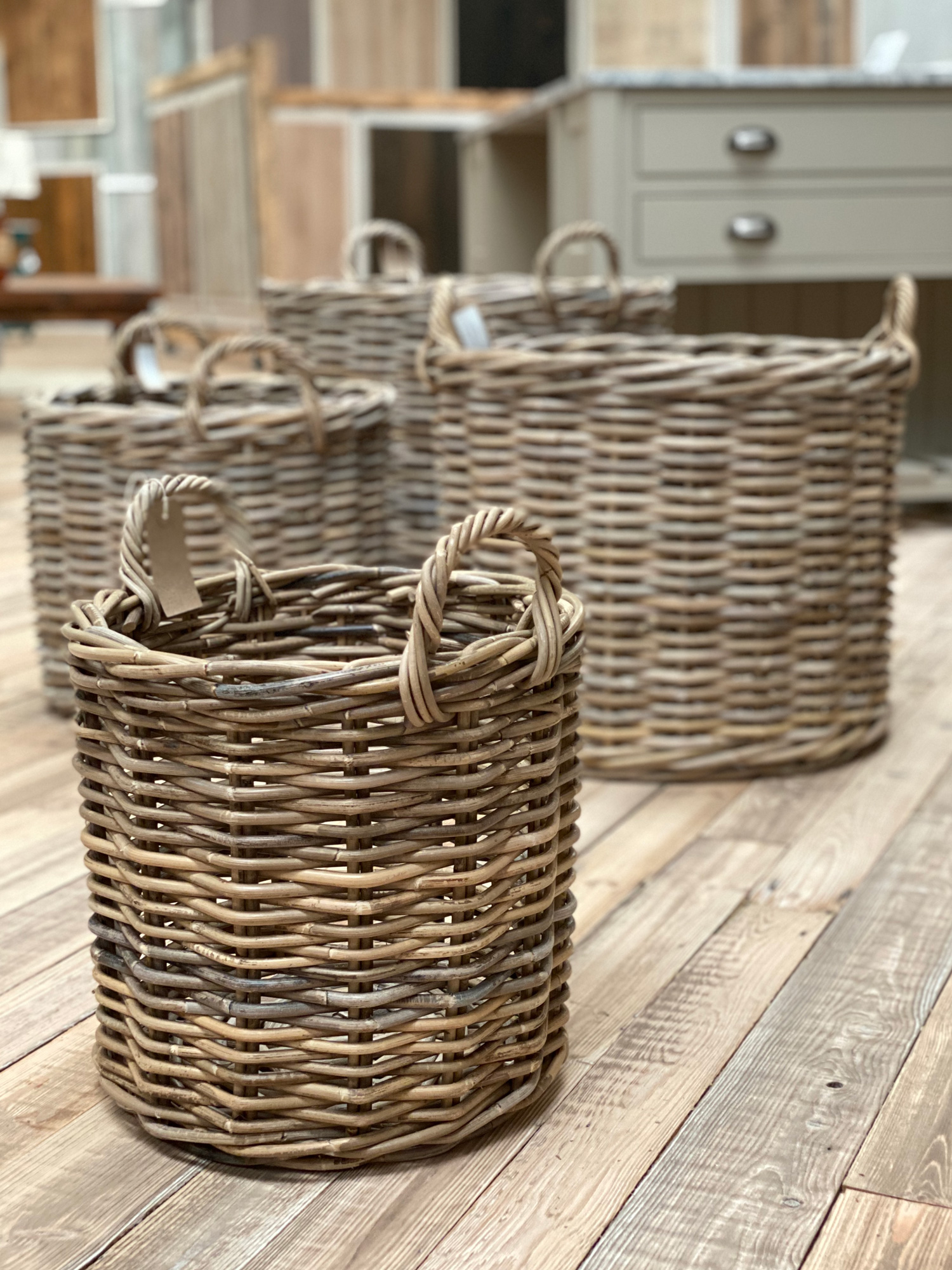 Small Log Basket