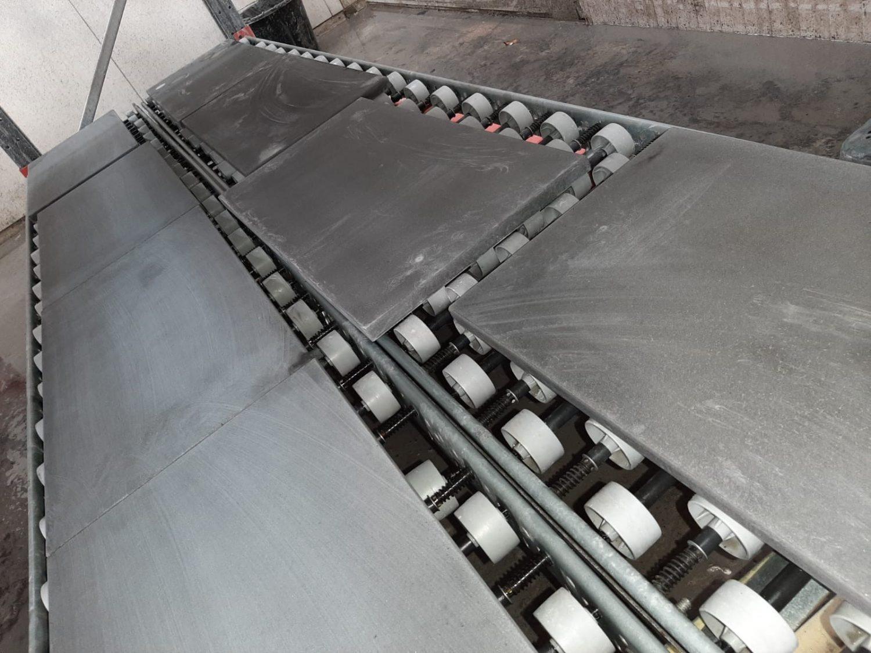Solid concrete worktops