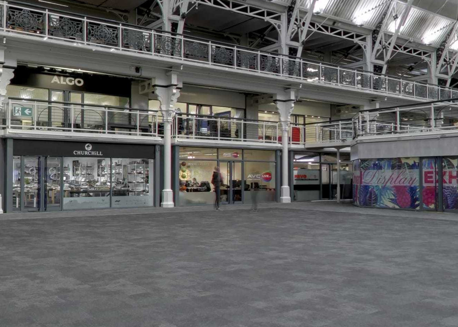 Existing screenshot of the London Showroom in the Business Design Centre