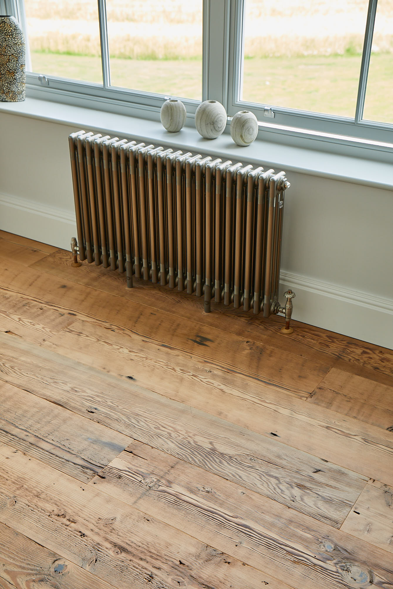 Engineered rustic floorboards