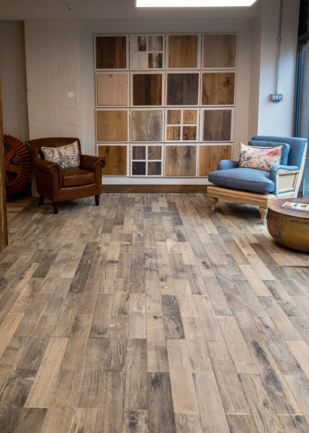 Reclaimed flooring and cladding