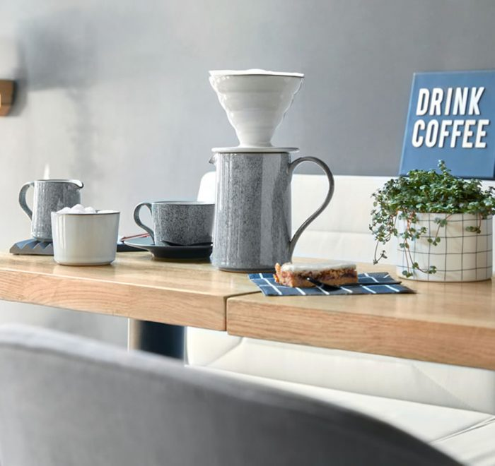 Denby coffee brew on table