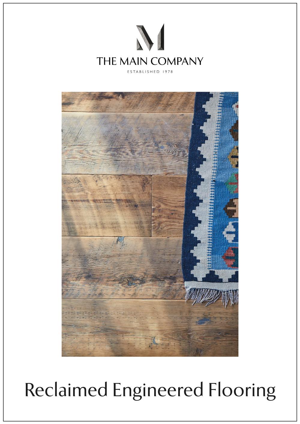Reclaimed Engineered Flooring Guide Book