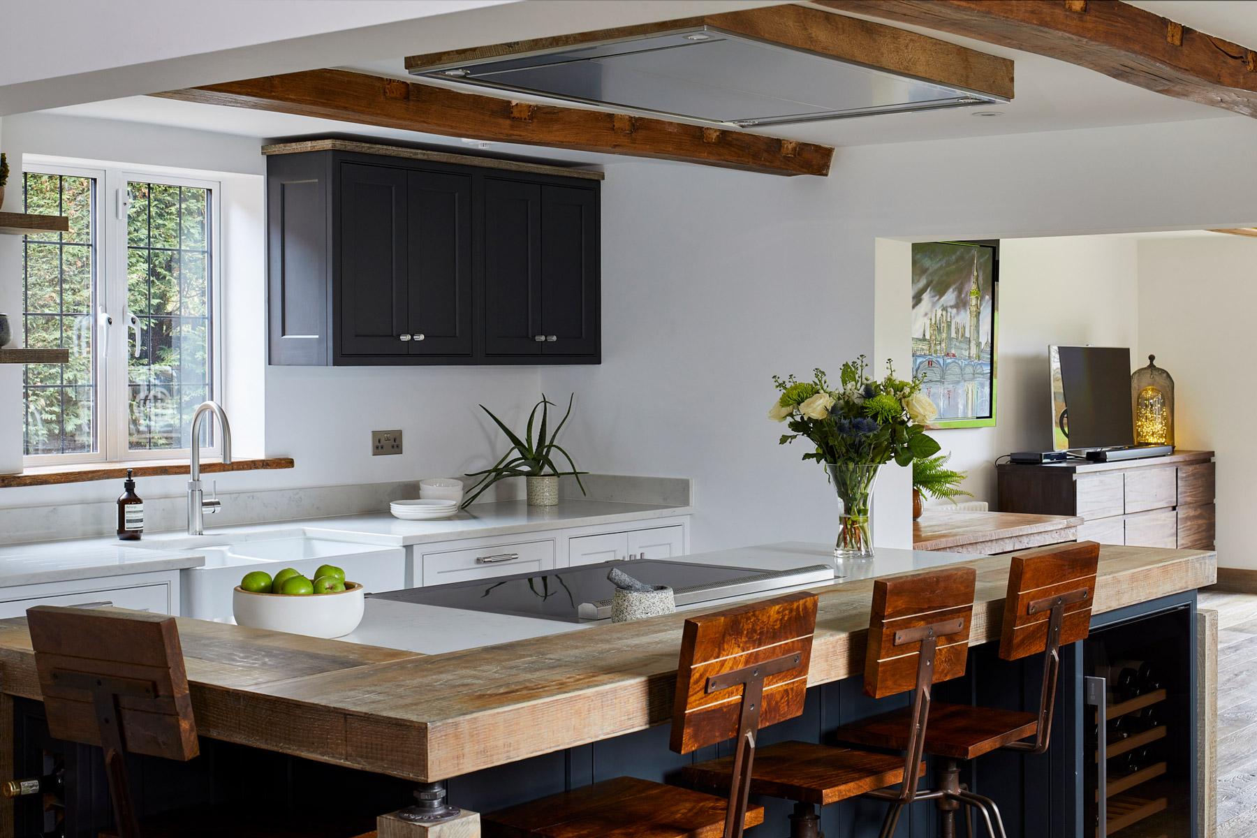 Reclaimed industrial kitchen