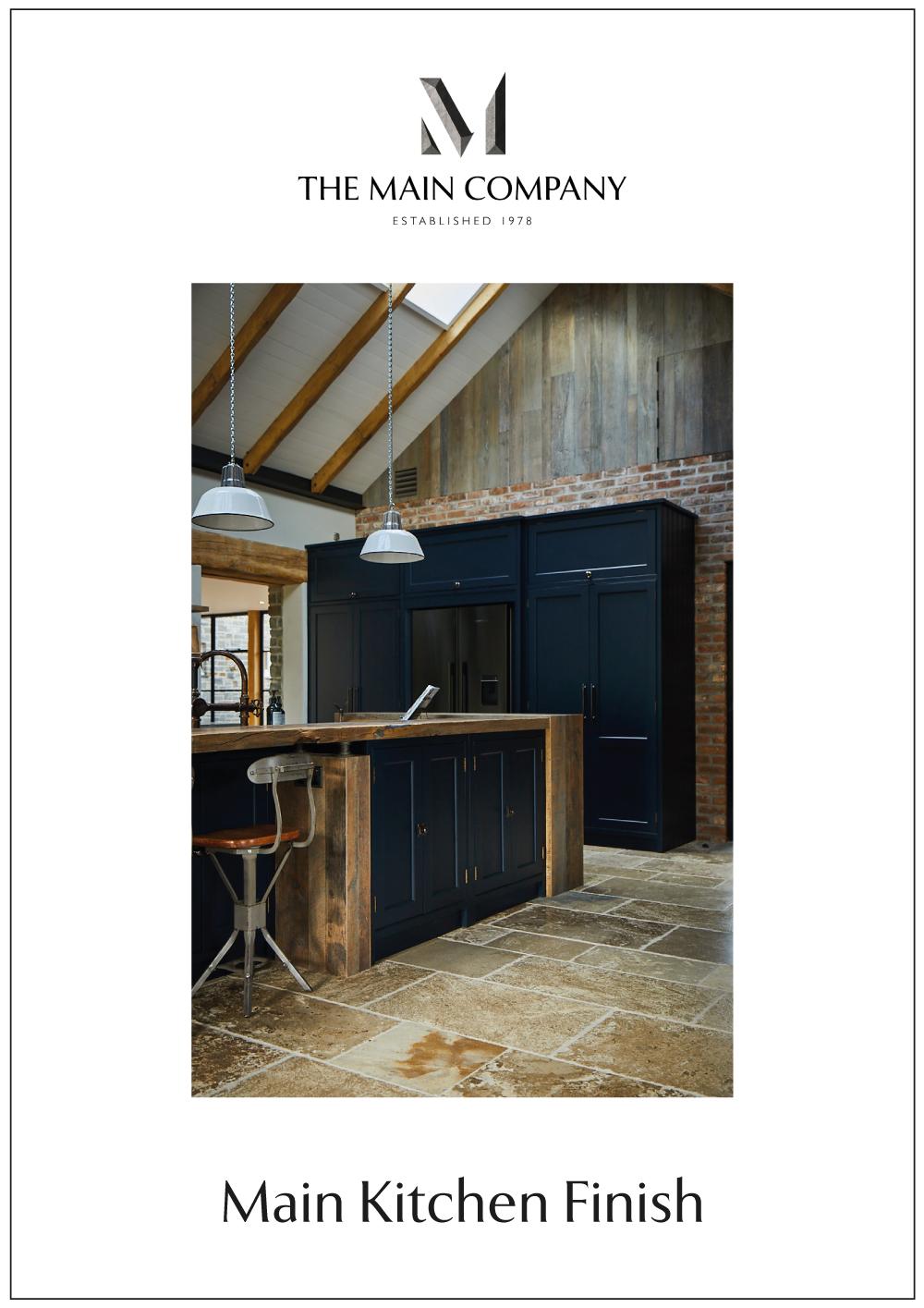 Main Kitchen Finish Brochure